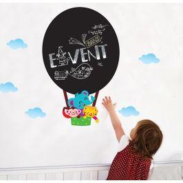 Ambiance Detská nástenná tabuľa so samolepkou Ballooon