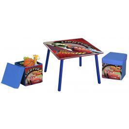 Delta Detský stôl s taburetmi Cars