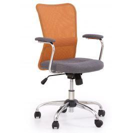 Halmar Detská stolička Andy - oranžová