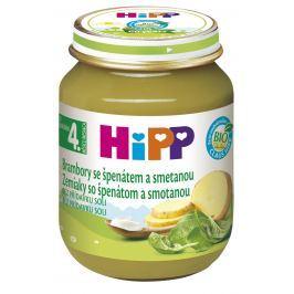 HiPP BIO Zemiaky so špenátom a so smotanou 6x125g