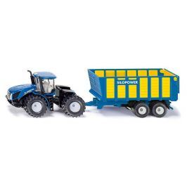 SIKU Farmer - Traktor New Holland s prívesom Joskin, 1:50
