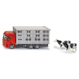SIKU Super - Transportér na prepravu dobytka + 2 kravy, 1:50