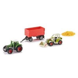 SIKU Super - Set poľnohospodárske vozidlá + dosky