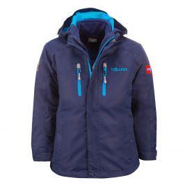Trollkids Chlapčenská bunda 3v1 Myrdal - tmavo modrá
