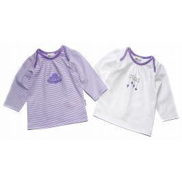 Gelati Dievčenská súprava 2 ks tričiek Home - fialová