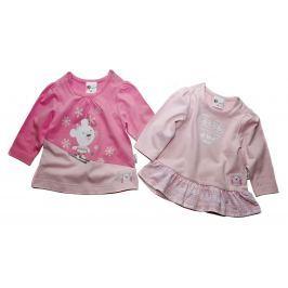 Gelati Dievčenská súprava 2 ks tričiek - ružová