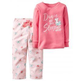Carter's Dievčenské pyžamo s psíkom - ružové