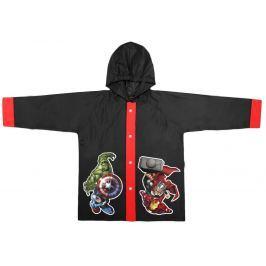 Disney Brand Chlapčenský kabátik do dažďa Avengers - čierny