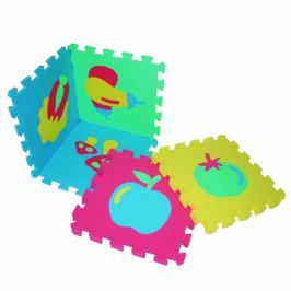 Wiky Mäkké puzzle bloky s ovocím
