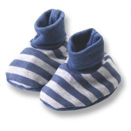 Lafel Chlapčenské pruhované ponožky / capáčky Dino - šedé