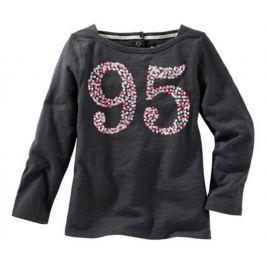Oshkosh Dievčenské tričko 95 - tmavo šedé