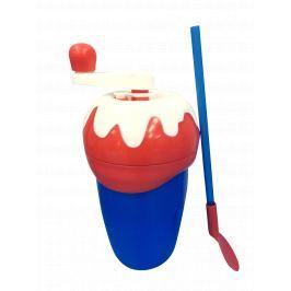 Chill Factor Milkshake Maker výroba mliečneho kokteilu - červená / modrá