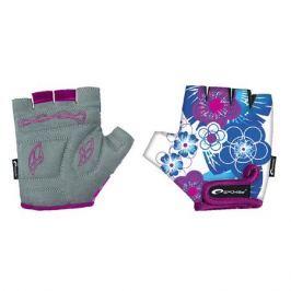 Spokey Detské cyklistické rukavice Blue Glove XS (16 cm)