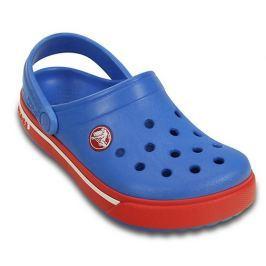 Crocs Detské sandále Crocband II.5 - modro-červené
