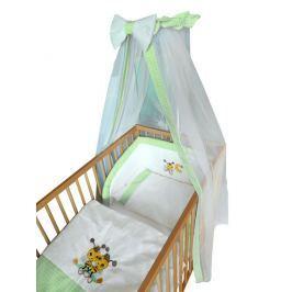Cosing Detská 4 dielna súprava obliečok De Luxe Včielka - zelený lem