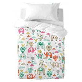 Moshi Moshi Detské obliečky Elephant Parade, 100x120 cm / 50x30 cm