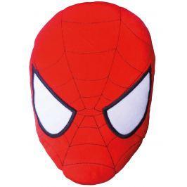 CTI Detský 3D vankúš Spiderman, 36x26 cm - červený