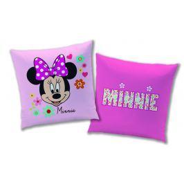 CTI Detský obojstranný vankúš Minnie, 40x40 cm - ružový