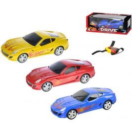 Mikro hračky Auto RC I-DRIVE plast 25 cm s ovládacím náramkom - modré