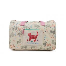 Pink Lining Cestovná taška pre deti - Raining cats and dogs