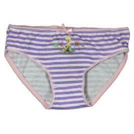 E plus M Dievčenské prúžkované nohavičky Frozen - bielo-fialové