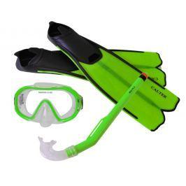 Sulov Detský potápačský set S06 + M168 + F41 PVC - zelený