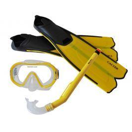 Sulov Detský potápačský set S06 + M168 + F41 PVC - žltý