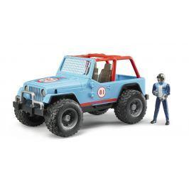 Bruder Jeep Cross country s vodičom 1:16