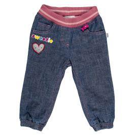 MMDadak Dievčenské nohavice Candy - modré