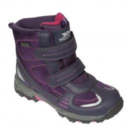Trespass Dievčenské členkové outdoorové topánky Giz Gaz - fialové