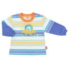 2be3 Chlapčenské tričko Kosmos s UFO - farebné