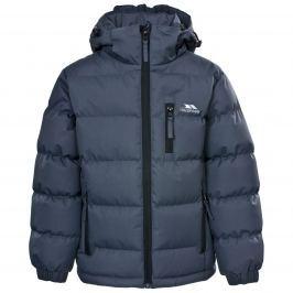 Trespass Chlapčenská prešívaná bunda Tuff - tmavo modrá