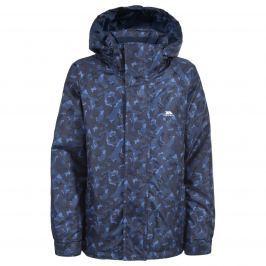 Trespass Chlapčenská maskáčová bunda Bruce - modrá