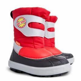 Demar Dievčenské snehule Baby Sports E - červené