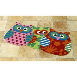 Hanse Home Detský koberec Sovičky, 40x80 cm - farebné