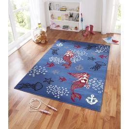 Hanse Home Detský koberec Morská pána, 140x200 cm - modrý