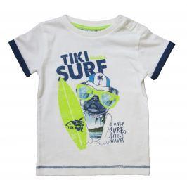 Carodel Chlapčenské tričko Surf - biele