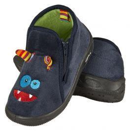 SOXO® Chlapčenské papučky Příšerka - tmavo modré