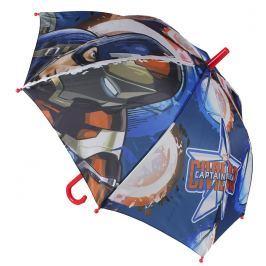 Disney Brand Chlapčenský dáždnik Captain America - modrý