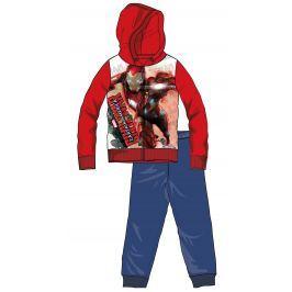 Disney by Arnetta Chlapčenská tepláková súprava Captain America - červeno-modrá