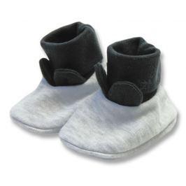 Lafel Chlapčenské ponožky / capáčky XOXO - šedé