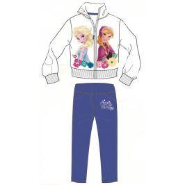 Disney by Arnetta Dievčenská tepláková súprava Frozen - bielo-modrá