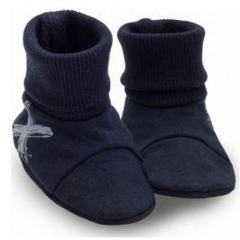 Pinokio Chlapčenské ponožky / capáčky Xavier - tmavo modré