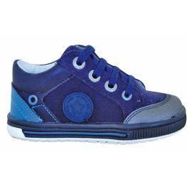 Protetika Chlapčenské členkové topánky Paul - modré