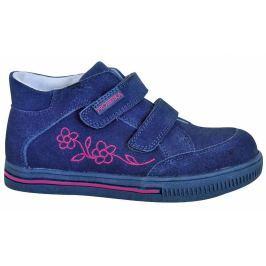 Protetika Dievčenské členkové topánky Roka - tmavo modré