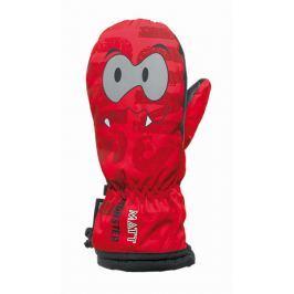 Matt Detské palčiaky Monster - červené