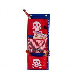STORE !T Závesný organizér Pirátska lebka, 100x38 cm