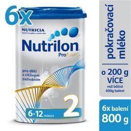 Nutrilon dojčenské mlieko Profutura 2, 6x800g