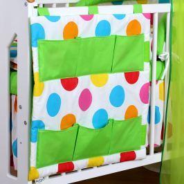 Baby Nellys Vreckár Bubble Baby Dreams - zelený