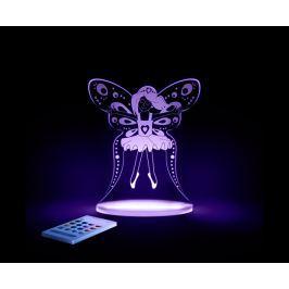 Aloka Nočné svetielko Víla + ovládač pre voľbu farieb